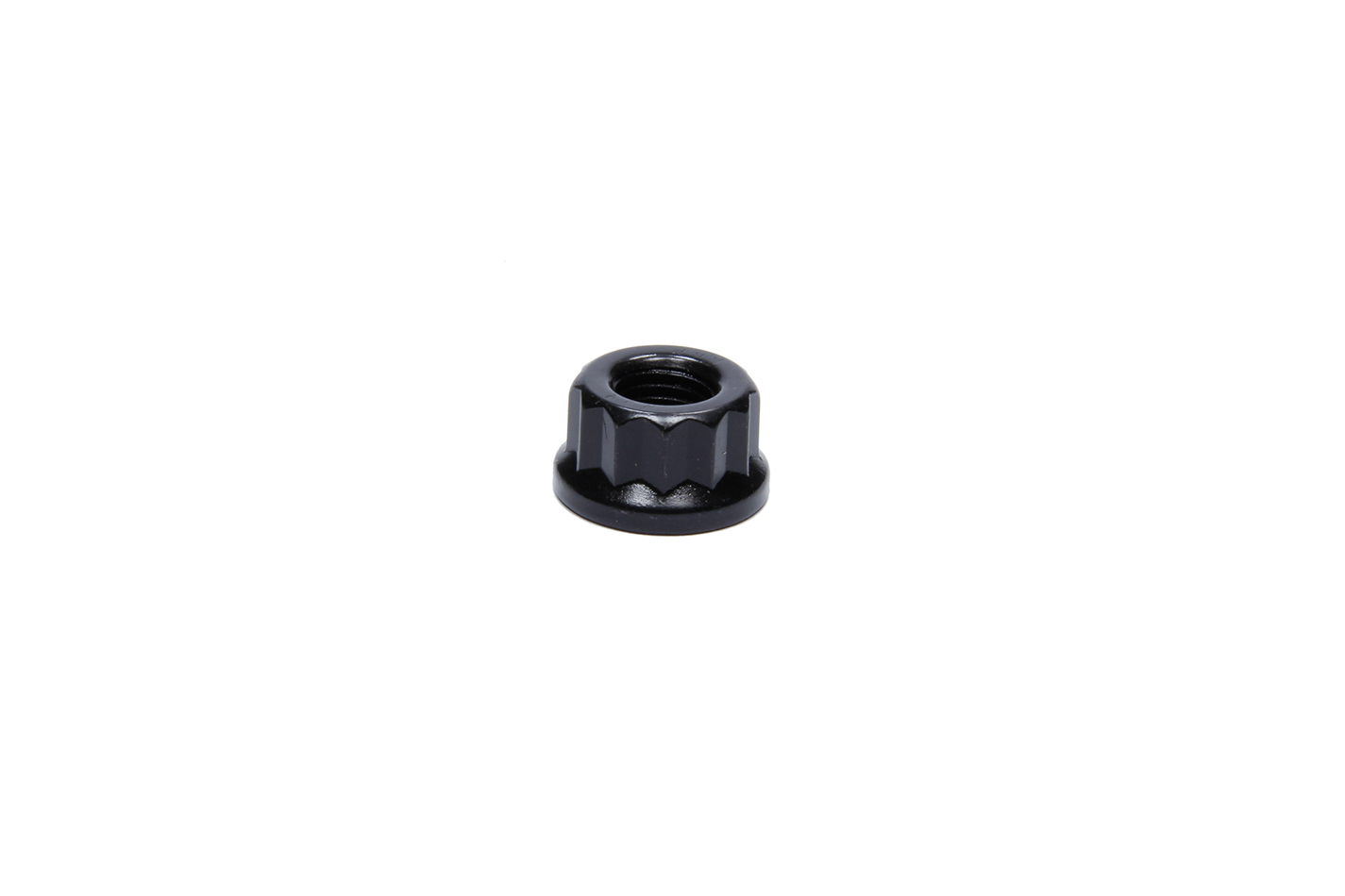 ARP 301-8312 Nut, 10 mm x 1.25 Thread, 16 mm 12 Point Head, Chromoly, Black Oxide, Universal, Each