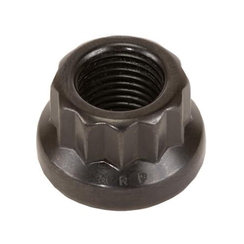ARP 301-8318 Nut, 12 mm x 1.25 Thread, 16 mm 12 Point Head, Chromoly, Black Oxide, Universal, Each