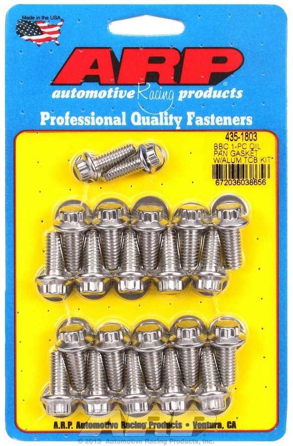 Moroso 38350 Stud Kit Oil Pan Small Block Chevy Kit Set Of 18