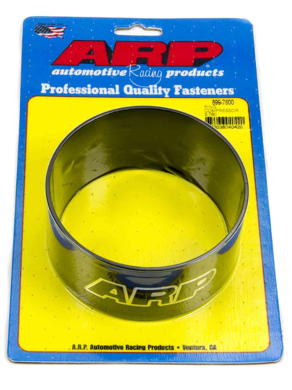 ARP 899-7800 Piston Ring Compressor, 3.780 in Bore, Tapered, Billet Aluminum, Black Anodized, Each