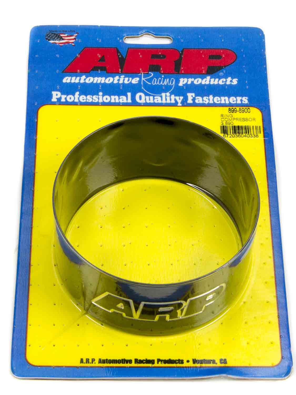 ARP 899-8900 Piston Ring Compressor, 3.890 in Bore, Tapered, Billet Aluminum, Black Anodized, Each