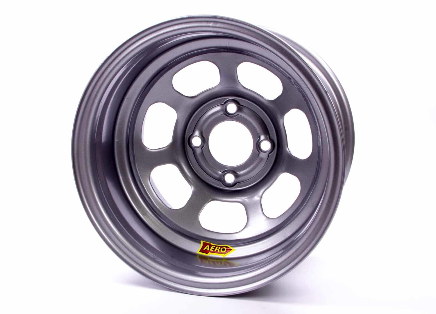 Aero Race 13x7 2in 4.50 Silver  Wheel
