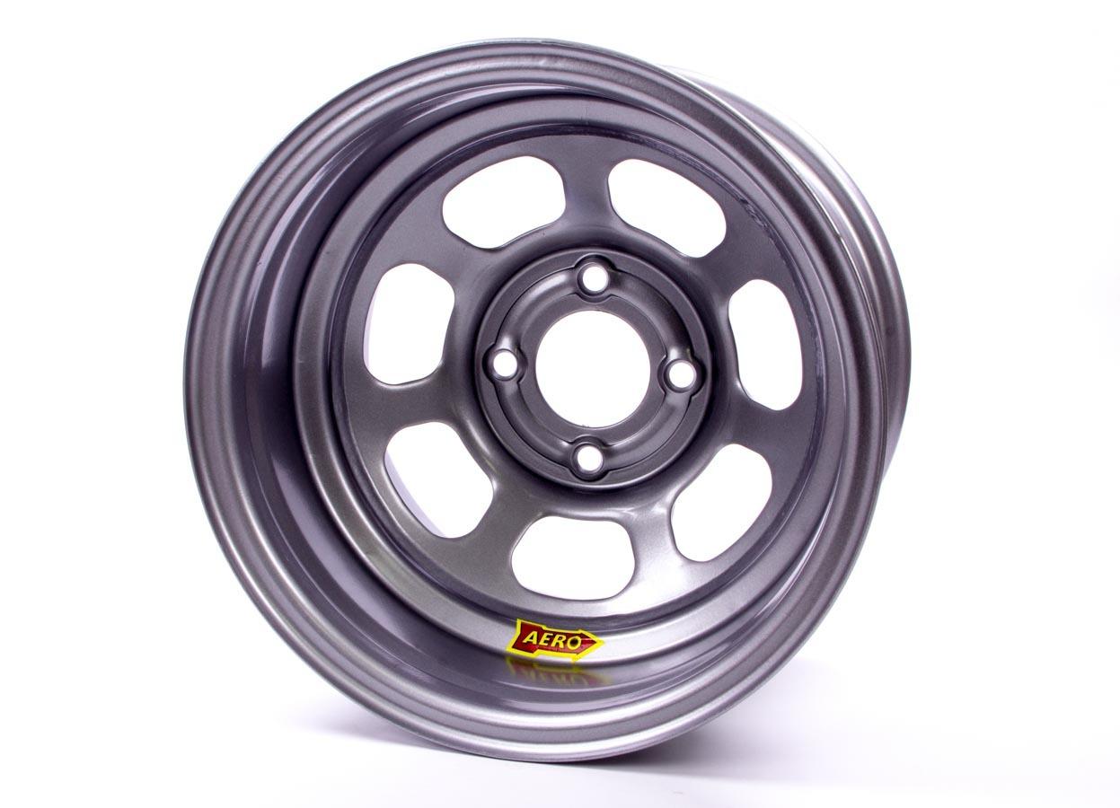 Aero Race Wheels 30-084220 Wheel, 30-Series, 13 x 8 in, 2.000 in Backspace, 4 x 4.25 in Bolt Pattern, Steel, Silver Powder Coat, Each