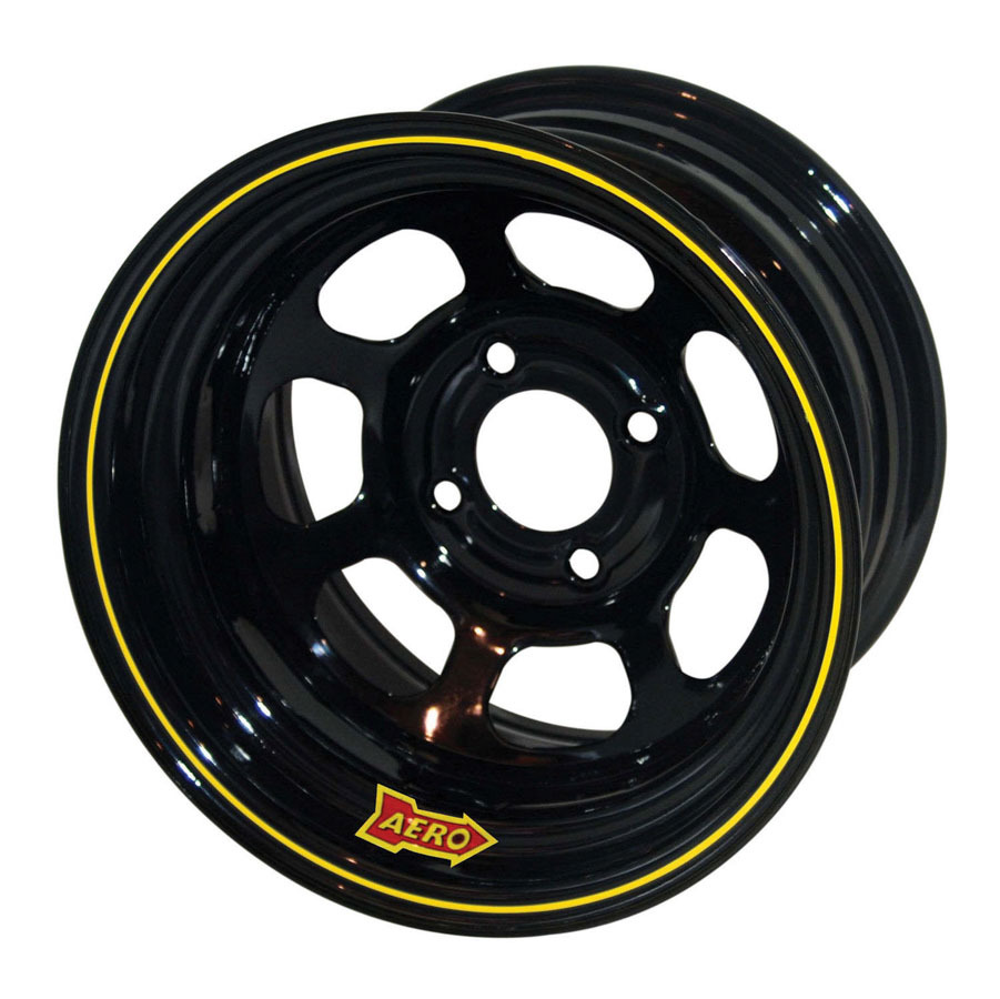Aero Race 13x7 3in 4.50 Black  Wheel