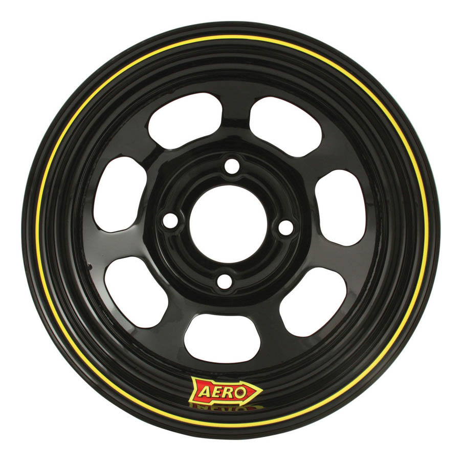 Aero Race 13x8 3in 4.25 Black  Wheel