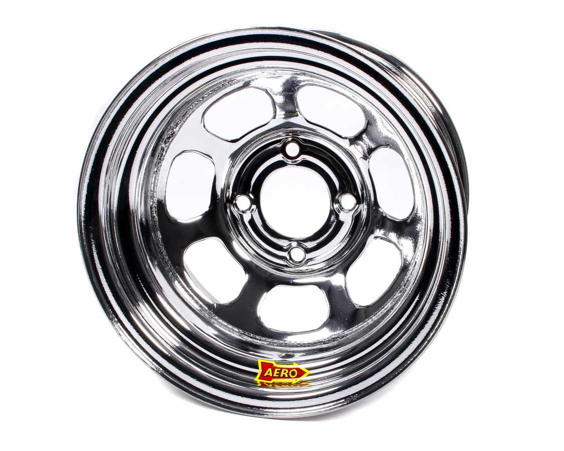 Aero Race 13x7 2in 4.50 Chrome  Wheel