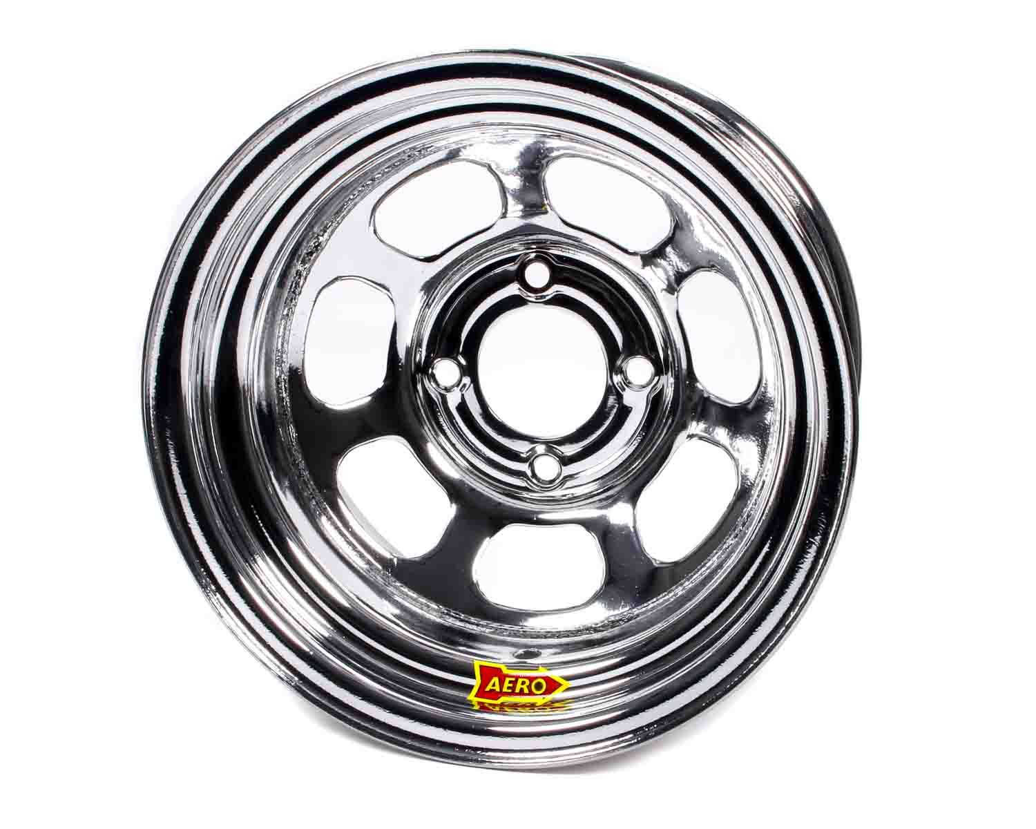 Aero Race 13x8 3in 4.25 Chrome  Wheel