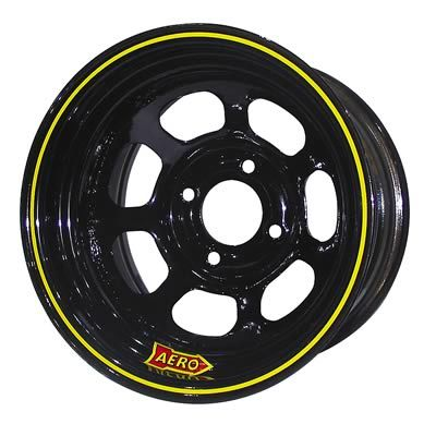 Aero Race 13x8 4in. 4.00 Black  Wheel