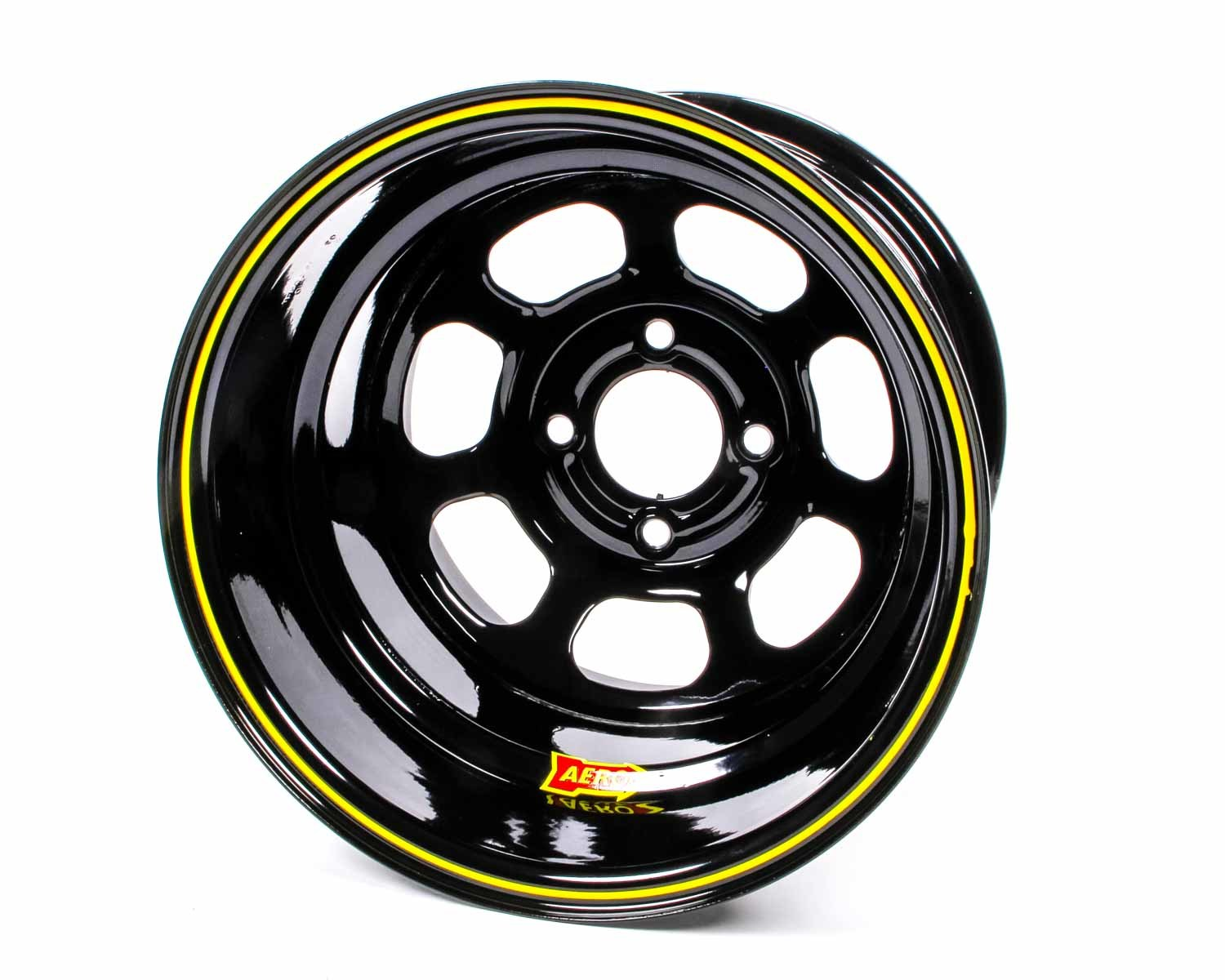 Aero Race 13x8 4in. 4.25 Black  Wheel
