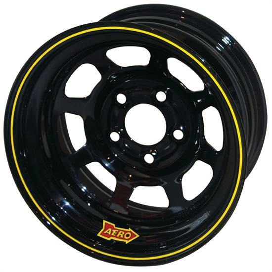 Aero Race 15x10 1in 4.75 Black  Wheel