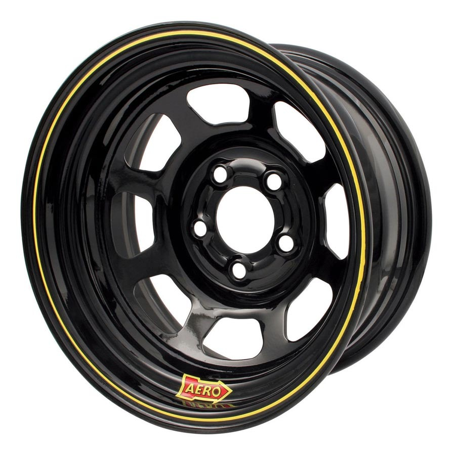Aero Race 15 X 7 3in. 4.75 Black  Wheel