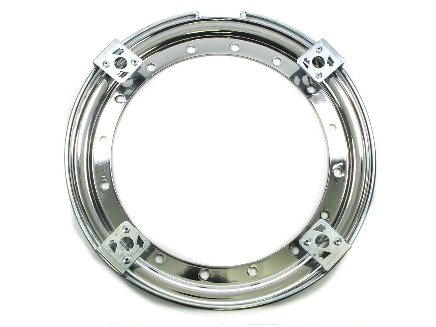 Aero Race 13in Outer Bead Lock Ring Chrome Wheel