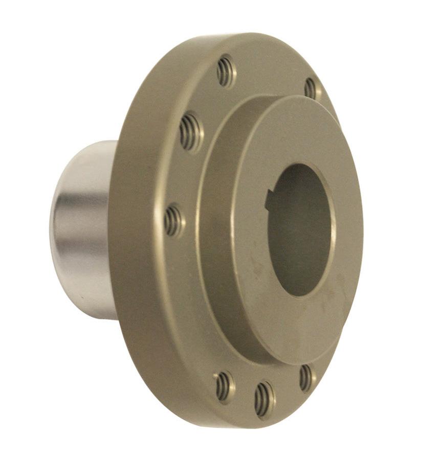 ATI Performance 916090 Harmonic Balancer Hub, Aluminum, Gold Anodized, ATI Balancers, Small Block Chevy, Each