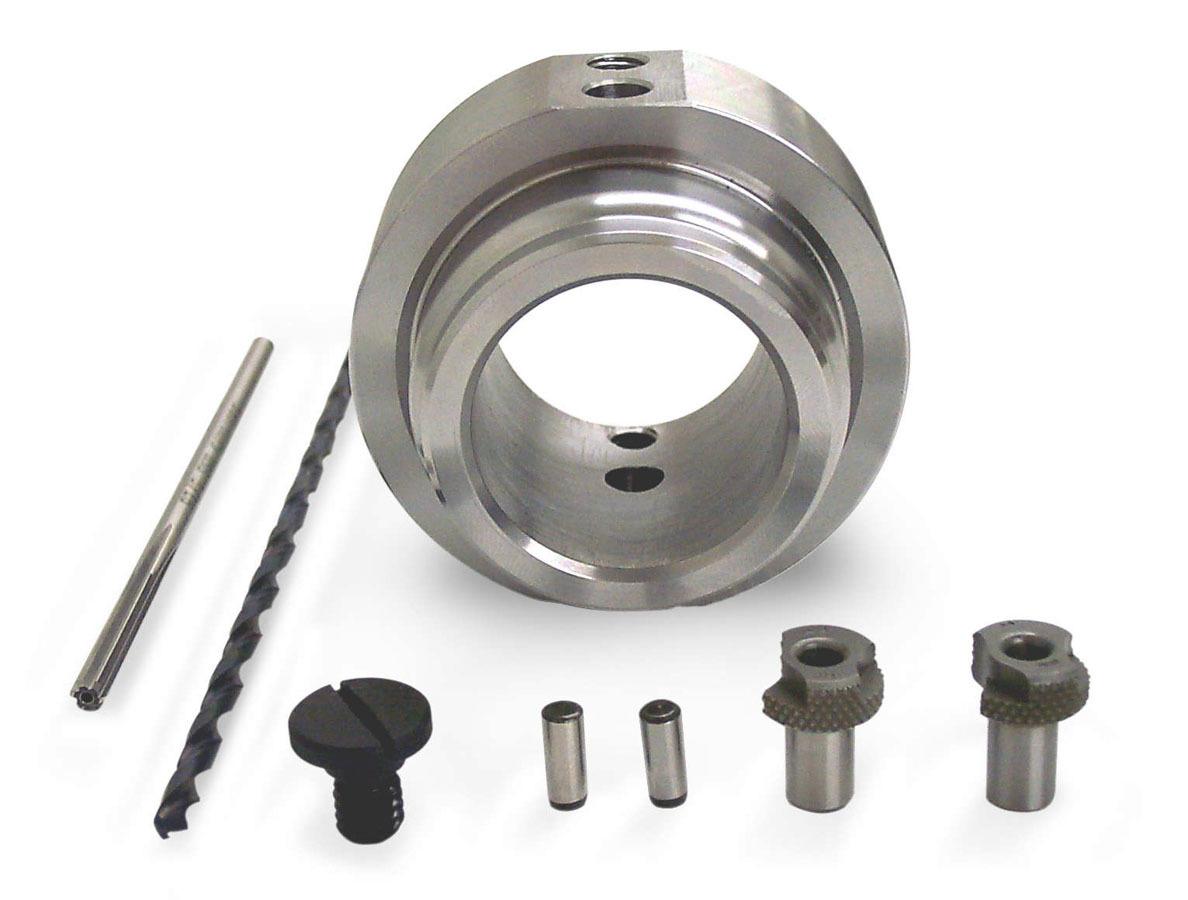 ATI Performance 918993 Drill Fixture, Crank Pin, Drill Bit / Hardware, Steel, Black Oxide, GM LS-Series, Kit