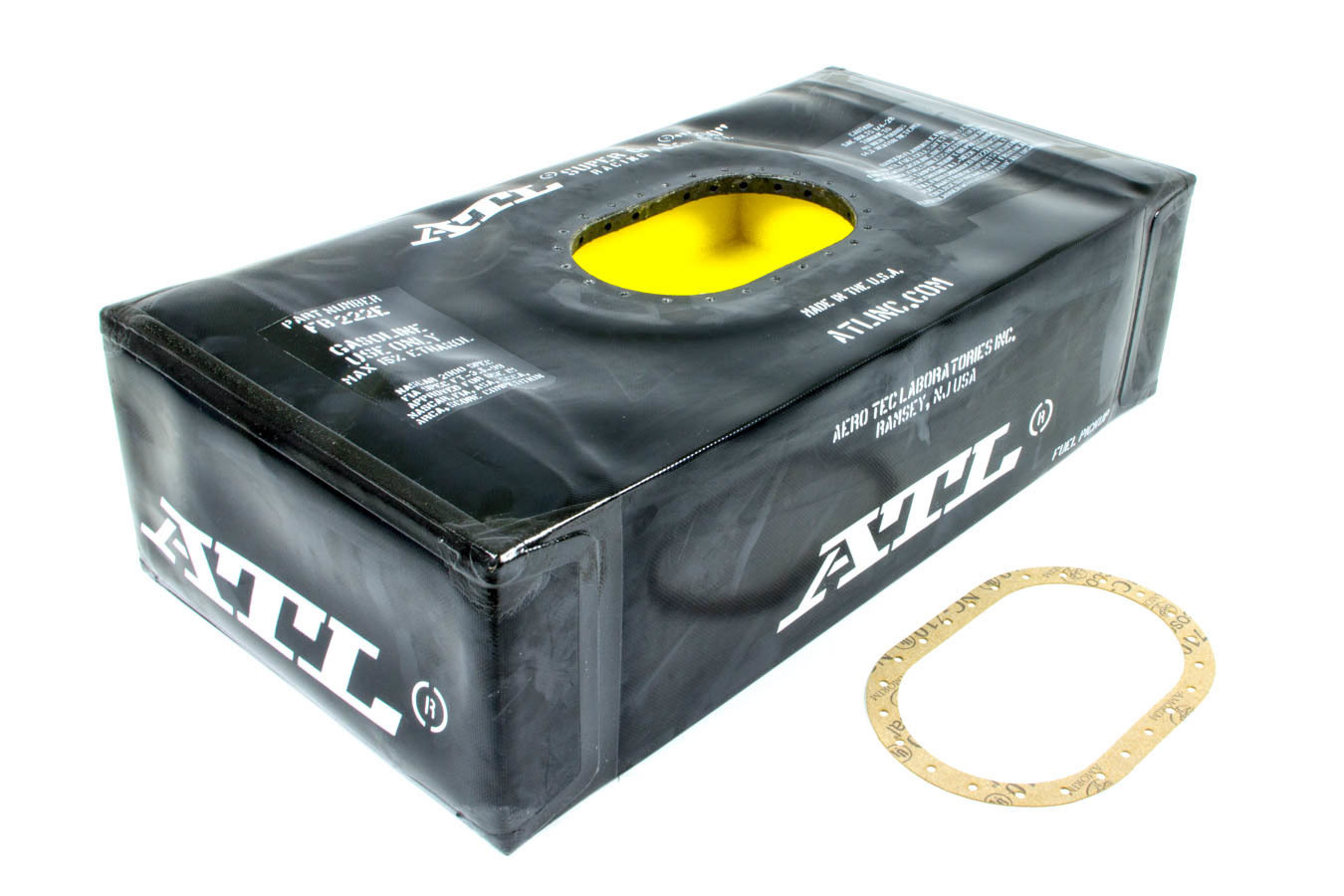 ATL Fuel Cells FB222E Fuel Cell Bladder, Super 200, 22 gal, Nut Ring / Gasket, Foam, Nylon, Kit
