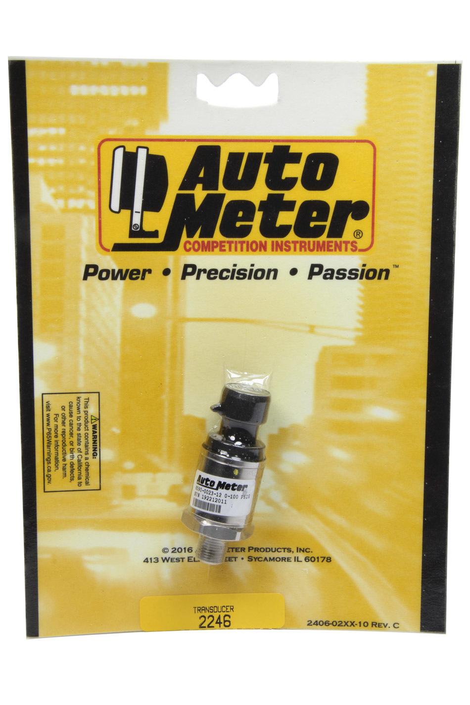 Fuel Pressure Sender - Full Sweep