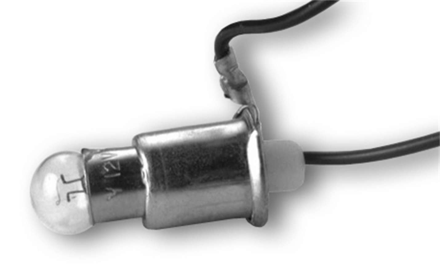 Auto Meter 2357 Bulb and Socket, 2 watt, Auto Gage 2-1/16 in Gauges, Each
