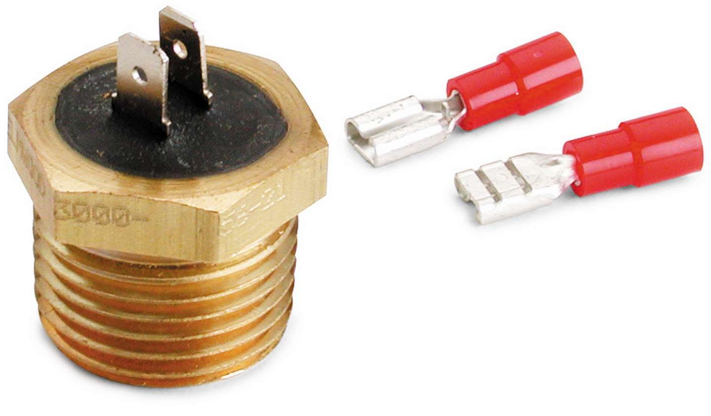 Auto Meter 3246 Temperature Switch, 200 Degree On, 170 Degree Off, 1/2 in NPT, Each
