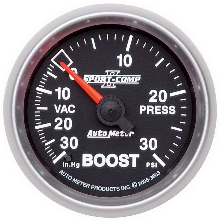 2-1/16in S/C II Boost / Vac Gauge