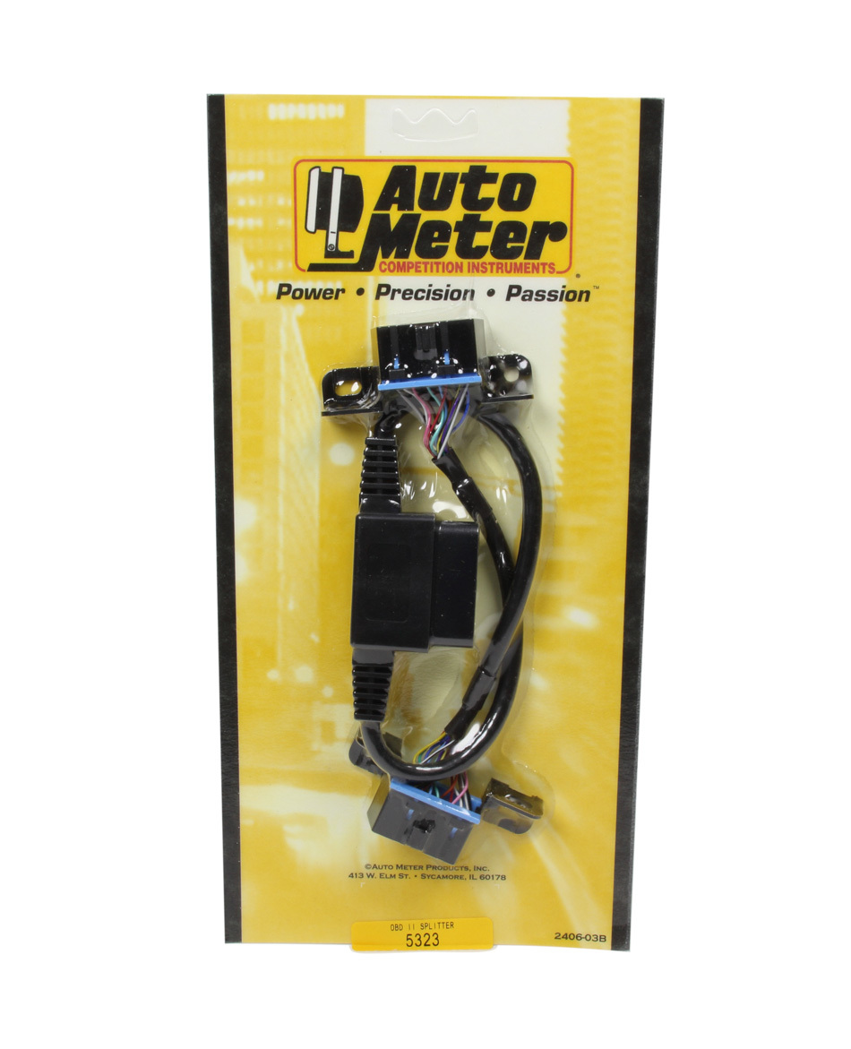 Auto Meter 5323 Data Transfer Cable, ODB-II Signal Splitter, Various Autometer Devices, Each
