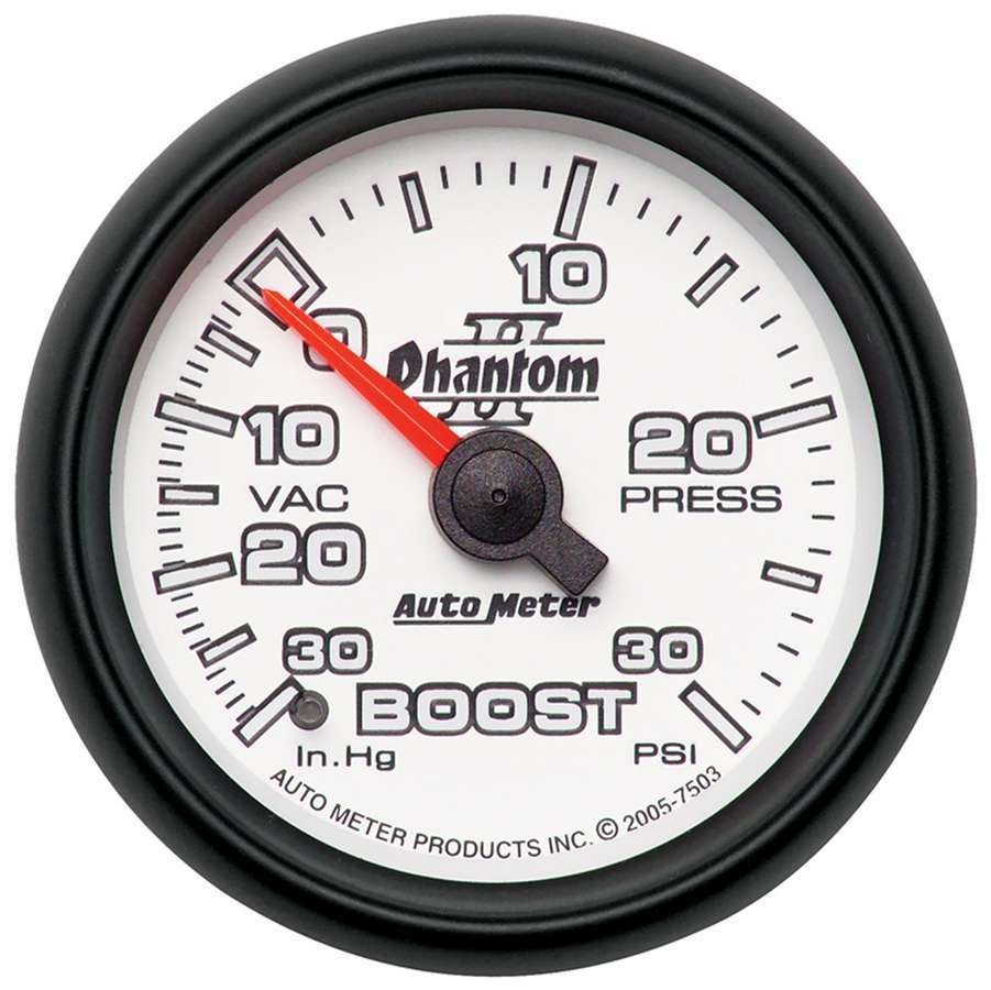 2-1/16in P/S II Boost/Vac Gauge