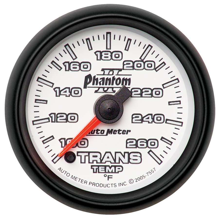 2-1/16in P/S II Trans. Temp. Gauge 100-260