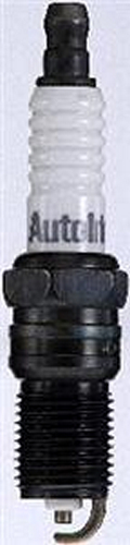 Autolite 103 Spark Plug, 14 mm Thread, 0.708 in Reach, Tapered Seat, Resistor, Each