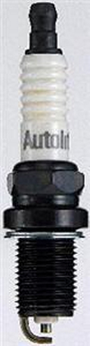 Autolite 3923 Spark Plug, 14 mm Thread, 0.750 in Reach, Gasket Seat, Resistor, Each