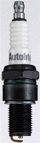 Autolite 403 Spark Plug, 14 mm Thread, 0.750 in Reach, Gasket Seat, Resistor, Each