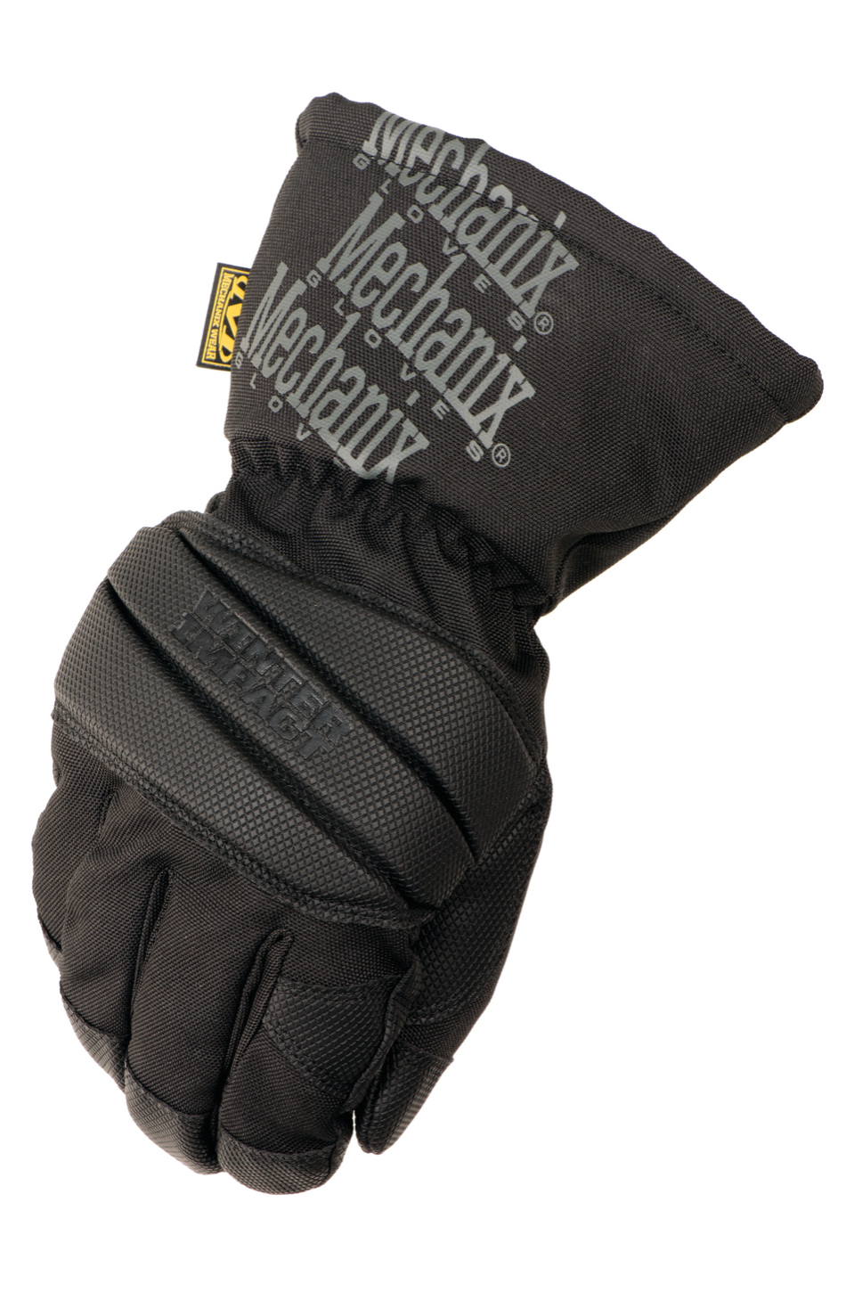 Mechanix Wear MCW-WI-009 Gloves, Shop, Winter Impact Gen 2, Gauntlet Style, Insulated, Black / Gray, Medium, Pair