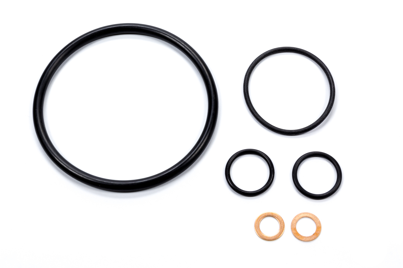 Barnes ORK-109 O-Ring, Copper Washers Included, Rubber, Barnes Oil Filter Adapters, Kit