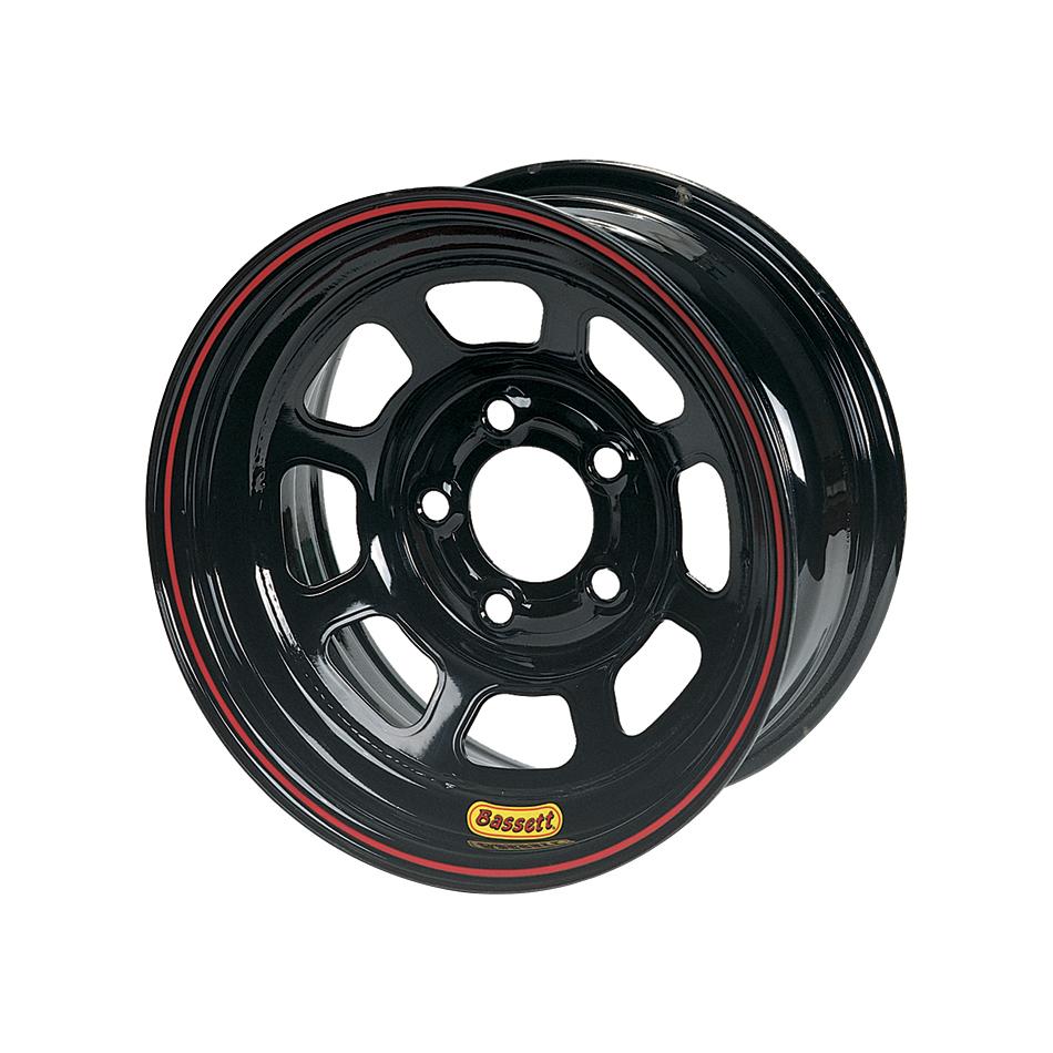 Wheel 14x7 D-Hole 5x 4.5in 3in BS Black