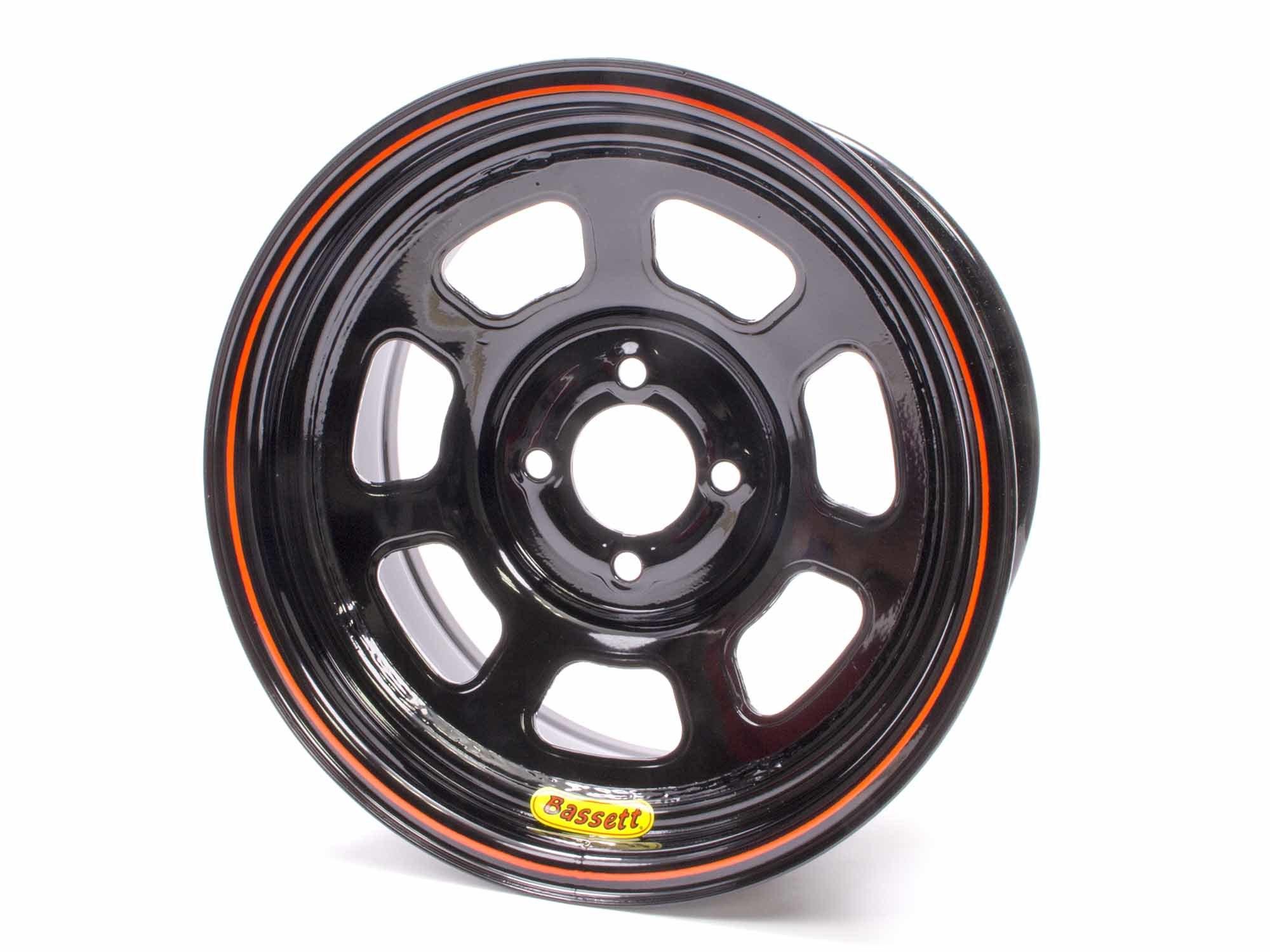 Wheel 14x7 D-Hole 4x100mm 2in Black