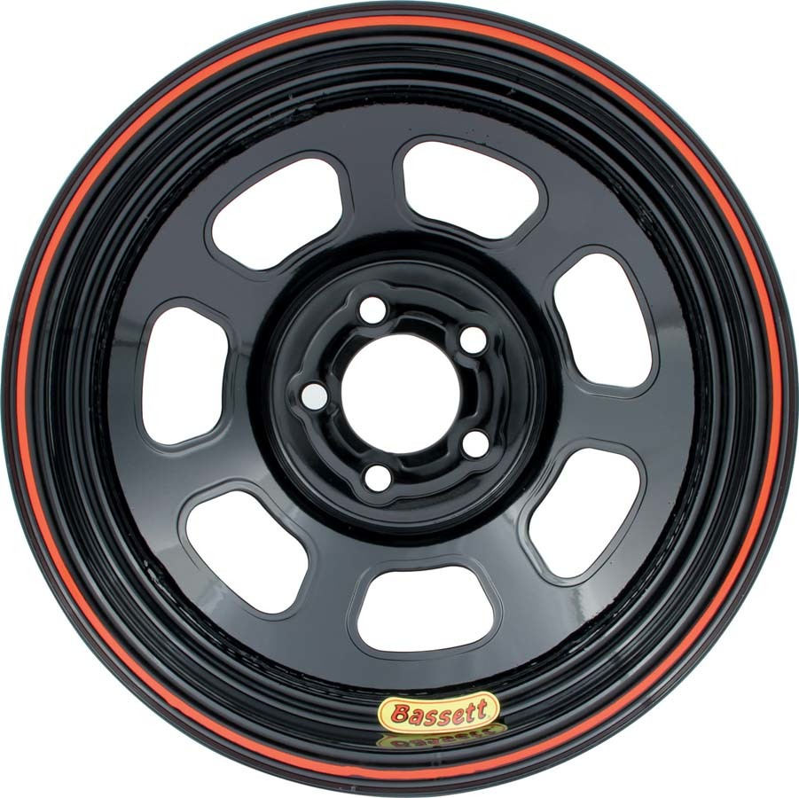Wheel 14x7 D-Hole 5x100mm 2in BS Black