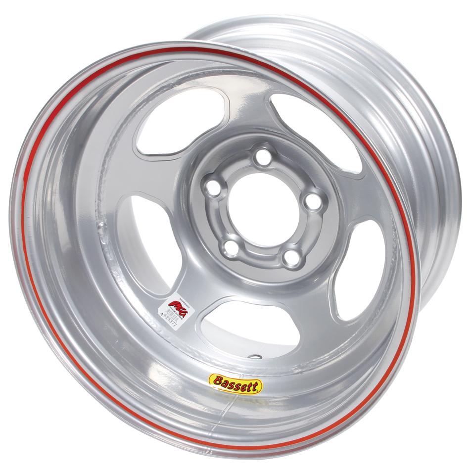 Bassett 15x10 5x5 Silver Inertia