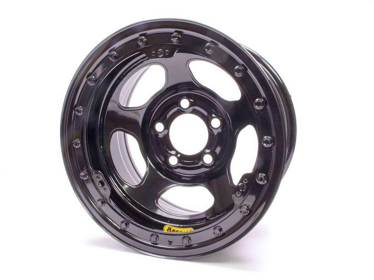 Bassett 15 x 8.75 B/L Black 5x5 4in BS Inertia
