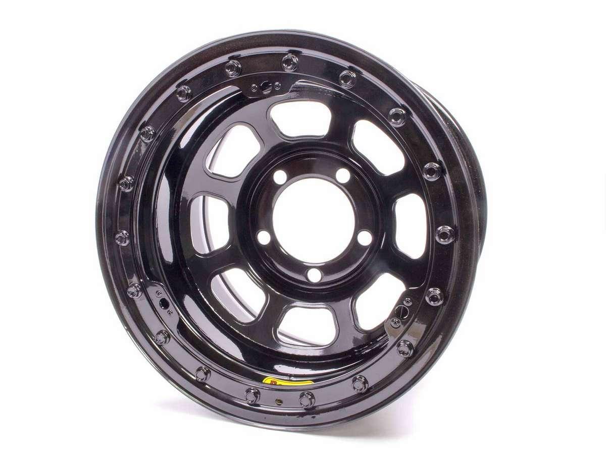 Bassett 15 x 8.75 B/L Black 5x5 2in BS D-Hole