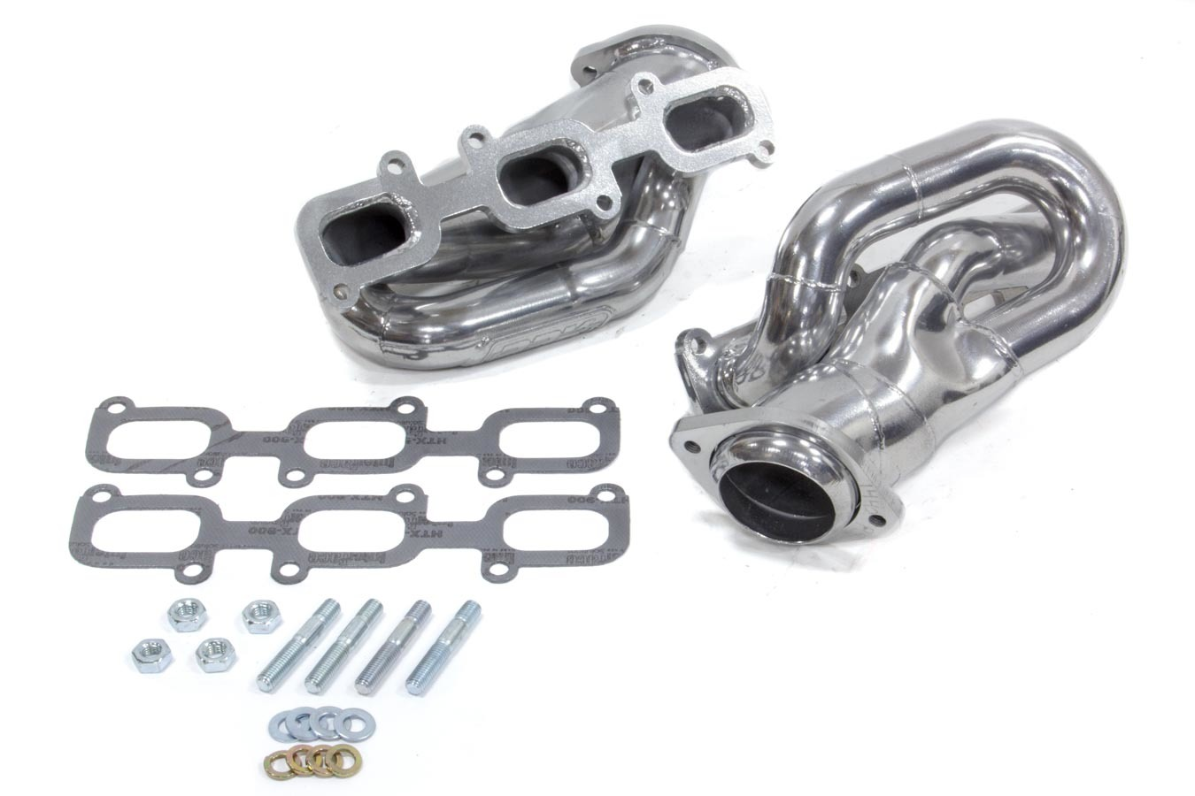 BBK Performance 14420 Headers, Tuned Length Shorty, 1-5/8 in Primary, Stock Collector Flange, Steel, Metallic Ceramic, Ford V6, Ford Mustang 2011-14, Kit