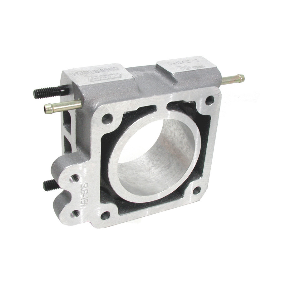 BBK Performance 1504 EGR Plate, 75 mm, Aluminum, Natural, Small Block Ford, Ford Mustang 1986-93, Each