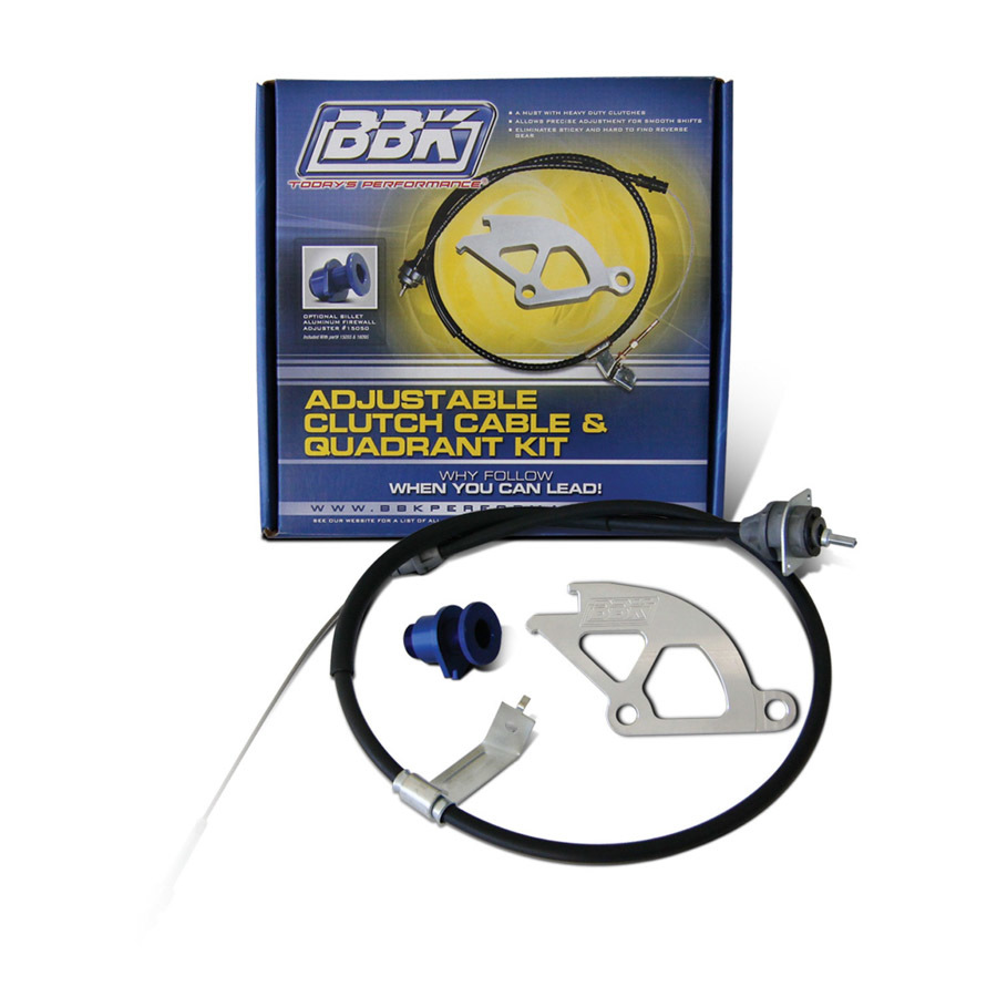 Clutch Quadrant & Cable Kit - 79-95 Mustang