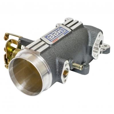 BBK Performance 17801 Throttle Body, Power Plus, Stock Flange, 73 mm Single Blade, Aluminum, Charcoal, Ford Mustang 1996-2004, Each