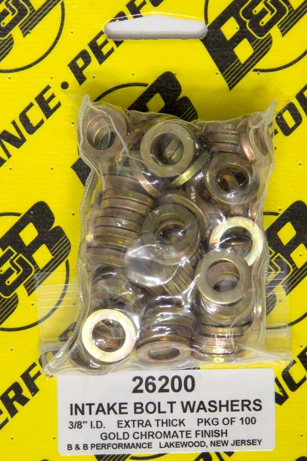 H/T Special Washers - 3/8in .625in OD (100)