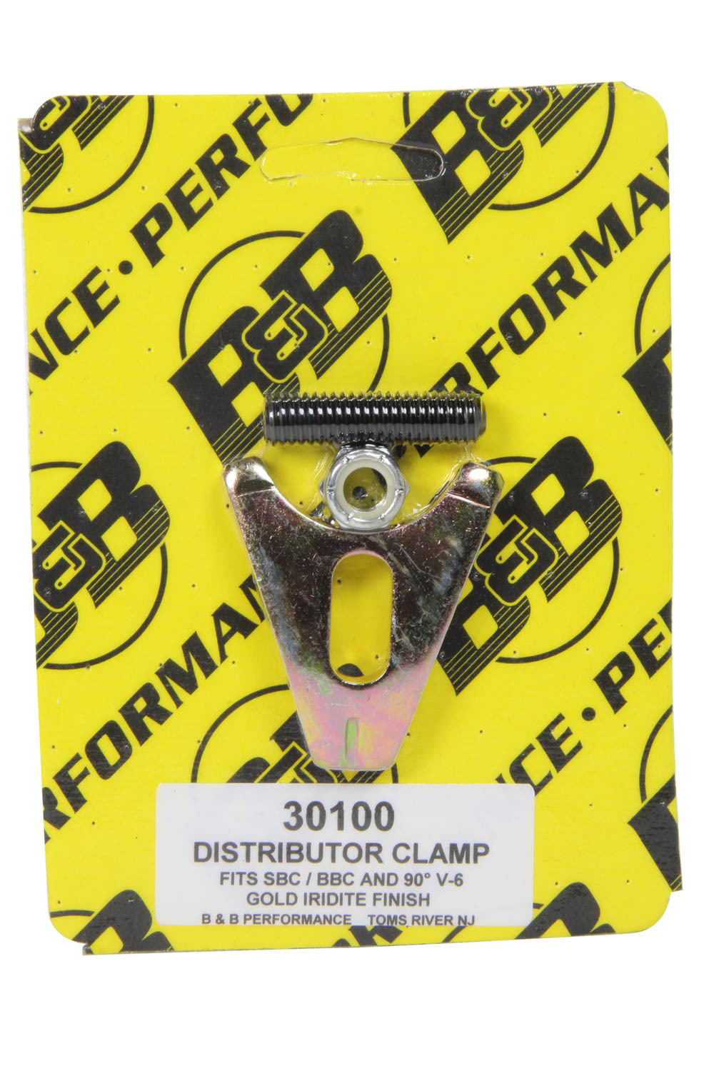 Distributor Clamp - Chevy V8- Gold