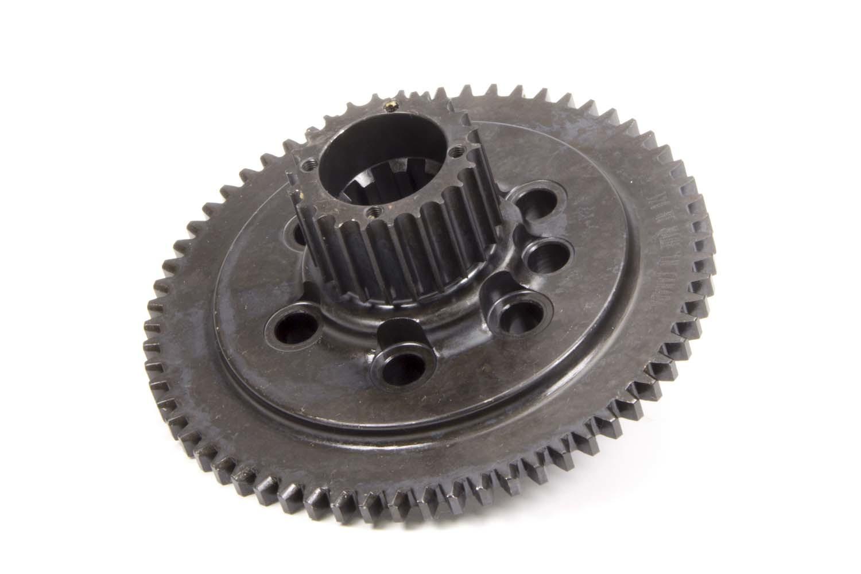 Bert Transmissions 320-NC Flywheel, 1 Piece, HTD Pulley, Steel, Bert Transmission, Internal Balance, 1 Piece Seal, Small Block Chevy, Each