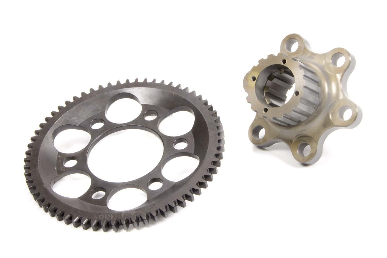 Bert Transmissions 370-L-G Flywheel, Lightweight, 2 Piece, Internal Balance, Gilmer Pulley, Aluminum, Bert Transmission, Chevy V8, Kit