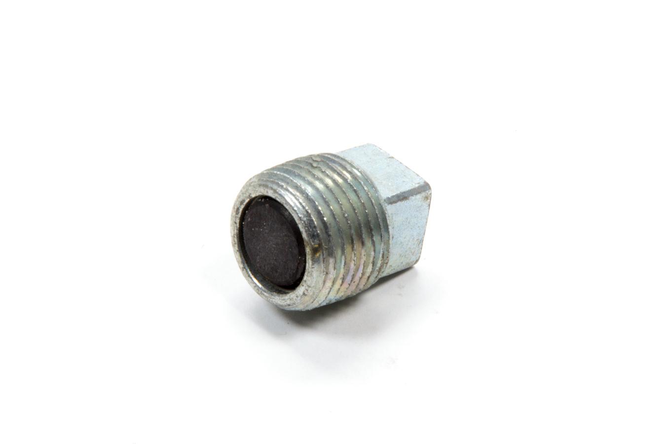 Bert Transmissions 72 Drain Plug, 1/2 in NPT, Square Head, Magnetic, Steel, Zinc Oxide, Bert Transmissions, Each