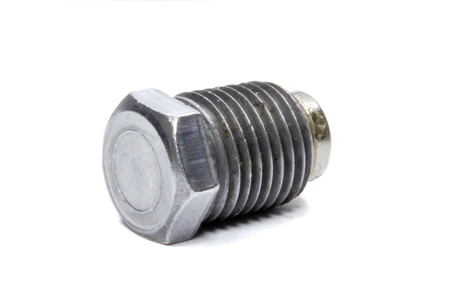 Bert Transmissions SG-1063 Drain Plug, 1/4 in NPT, Hex Head, Magnetic, Steel, Zinc Oxide, Bert Second Generation Transmissions, Each