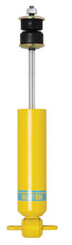 Bilstein AK3502 Shock, B6 Series, Monotube, Steel, Yellow Paint, Rear, Chevy Fullsize Car 1955-57, Each