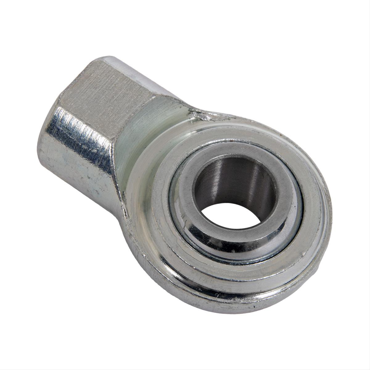 Bilstein E4-LG0-Z010A00 Shock End, Spherical, 3/8-24 in Thread, Bearing Included, Steel, Each