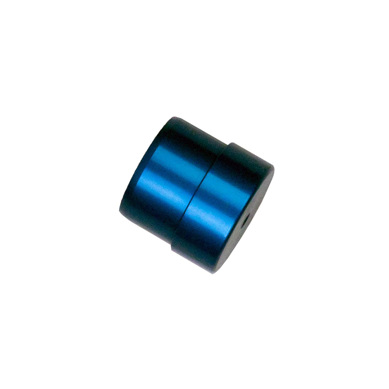 Bilstein E4-MTL-0006A00 Shock Rebuilding Tool, 46 mm Tube Plug, Aluminum, Blue Anodize, Each